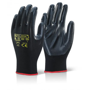 Γάντια Νιτριλίου Μαύρο Nite Star